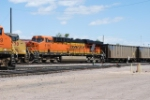 BNSF 6185 Coal Train Helper