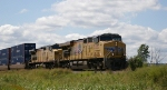 UP 5282 & UP 9715 Lead Eb Stacks