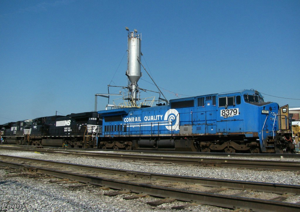 NS Locomotives in Avondale Yard