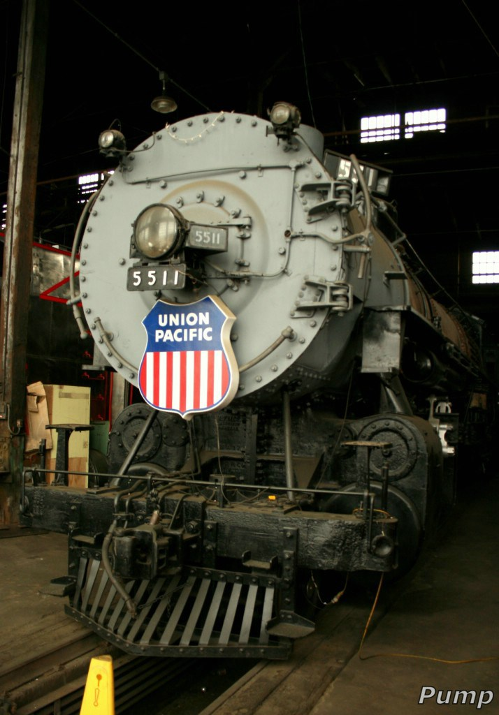 Stored Steam Locomotive - UP 5511
