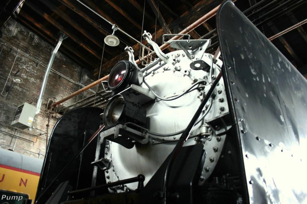 Stored Steam Locomotive - UP 838