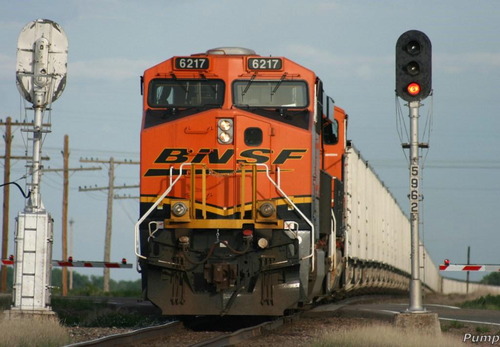 Eastbound BNSF Loaded Coal Train DPU's