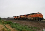 Eastbound BNSF Empty Grain Train DPU's