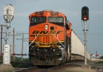 Eastbound BNSF Loaded Coal Train DPU's