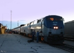 Eastbound Amtrak Southwest Chief Train #4