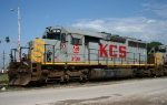 Stored KCS SD40-3 - KCS 3139