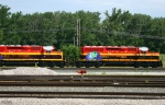 KCSM EMD Eco Rebuilds - KCSM 2651 and KCSM 2650