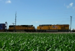 Westbound UP Intermodal Train DPU's