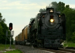 Westbound UP 844 and the Railroad Days Limited