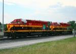 KCSM EMD Eco Rebuids - KCSM 2651 and KCSM 2650