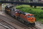 Southbound BNSF Mixed Freight