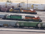 BNSF's Phase's of Paint Scheme's