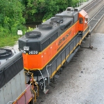 BNSF 2039 on a local freight?