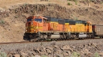 NB emty coal train