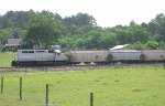 CSX local out of Gadsden working the grain plant