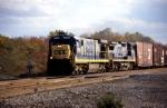 A fresh looking C30-7 leads train Q380 towards Buffalo