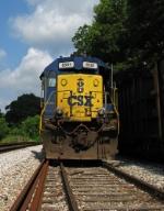 CSX 8501 parked at Pulaski