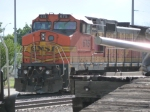 BNSF 675 In The Snow...In June?