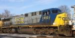 CSX 682 heads north on train Q410