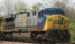 CSX 603 leads train Q484 into Hamlet Yard