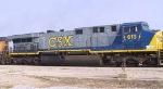 CSX 613 rolls through Florence Yard