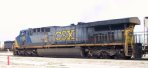 CSX 626 sits in the yard