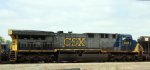 CSX 641 is on train F741