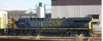 CSX 643 sits in the former RF&P engine terminal