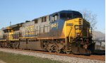 CSX 645 powers the Juice Train