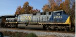 CSX 654 heads northbound