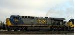 CSX 659 heads southbound
