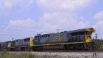 CSX 689 backs down to the yard