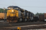CSX 348 q373 works in the yard