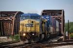 CSX 7798 & 498