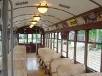 Interior of Milwaukee Streetcar No. 846