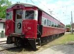Dinner train car No. 25