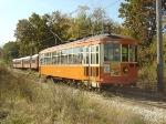 TMER&L 846 passes the Southshore train