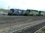 MRL 406 GP35 and FURX 8126 SD40-2