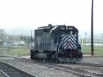 MRL 308 SD45-2 adding power onto westbound freight