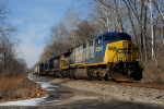 CSX Northbound approaching Vance Road in Moraine, OH