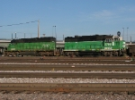 BNSF 2768 coupled with BNSF 7037