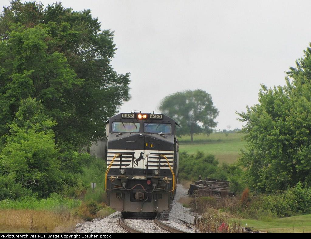NS 9483, pushing on the V92