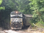 With the pushers moving away, V92 in on the CHW line and headed for Harrisonburg