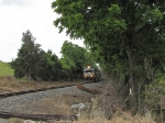V92 grain train approaching Buttermilk Creek Rd.