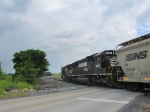 NS 9483 & 6615 on the V92 grain train heading into the new VPGA mill