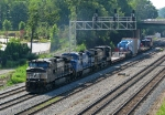 NS 9270 leads Schnabel train