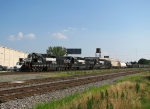 NS 5537 heads back from East Point