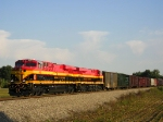 KCS 4685 On NS 174 Westbound