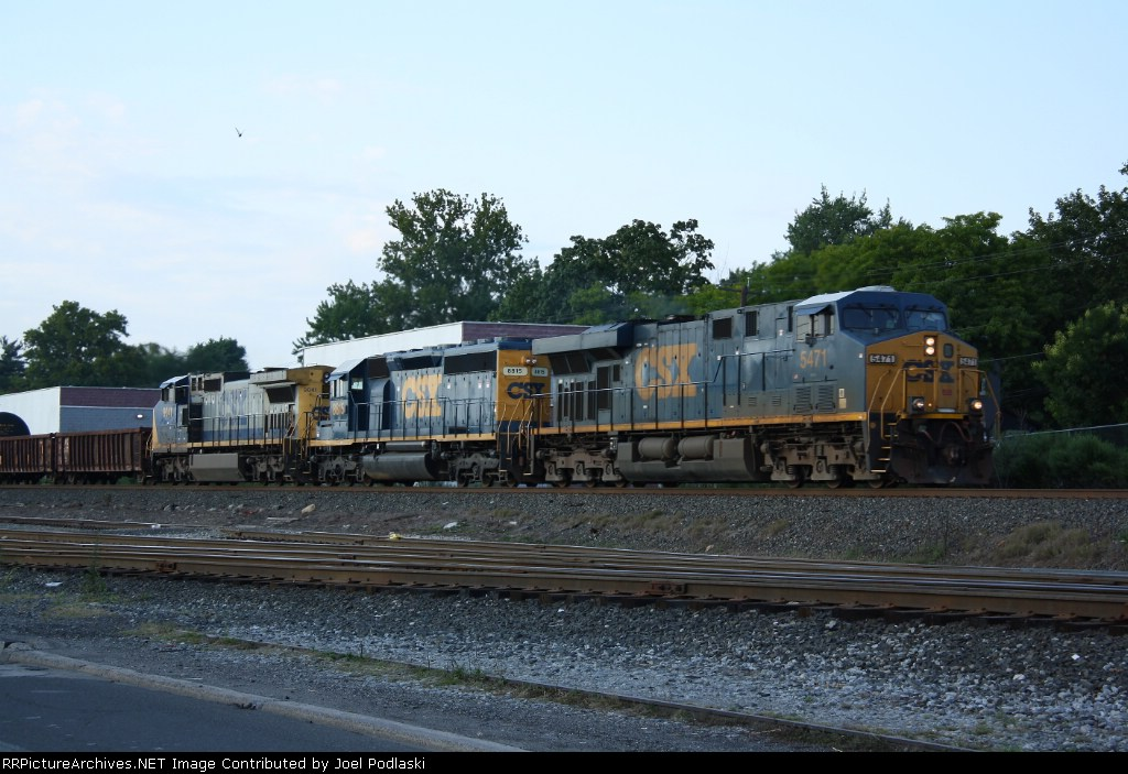 CSX 5471 is on Q433