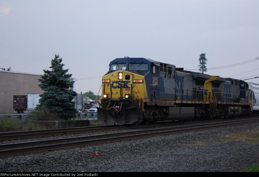 CSX 285 K-678